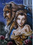 Beauty and the Beast Card by Amelie-ami-chan