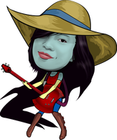 Sallie as Marceline by PiccleFiccle