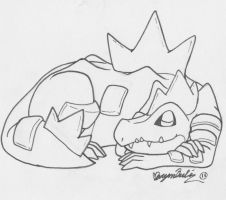 Feraligatr by hensome