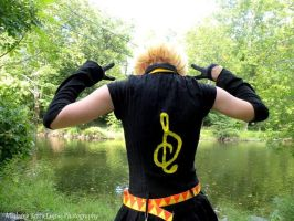 Rin Kagamine Original outfit Photoshoot 5 by mechanic-girl897