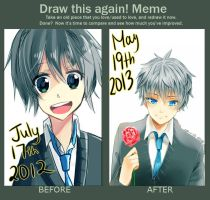 draw it again meme by deaeru