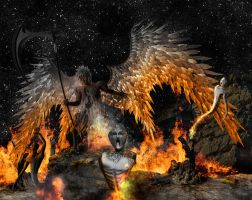 Death of an archangel Gabriel by TMProjection