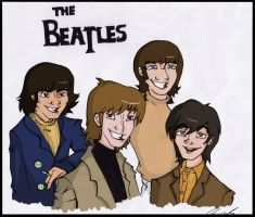 Teh Beatles by Moony-sama