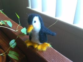 Trying My Hand At Needle Felting by mutePenguin