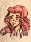 OC Lucienne Desrosiers by iLAUGHatEVERYTHING