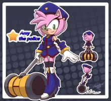 Amy the police by nancher