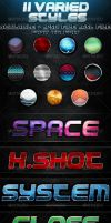 11 Varied Styles for Photoshop by aanderr
