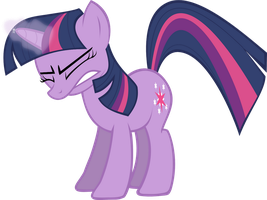 Twilight Sparkle Frustrated by areyesram