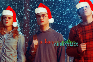 A Harry Potter Christmas by whyiloveyouandy