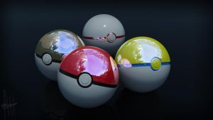 PokeBalls 3 by alexdarkred