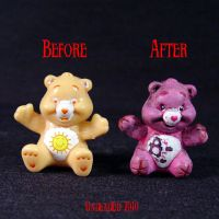 Killer Care Bear StumpyCompare by Undead-Art