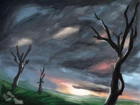 First attempt to Speedpainting by paulovicto