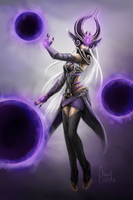 Syndra - LoL by Leadpanda