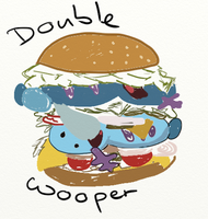 Double Wooper by Ha3uhi