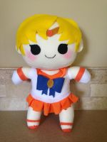 Sailor Venus chibi plush by orangecorgi
