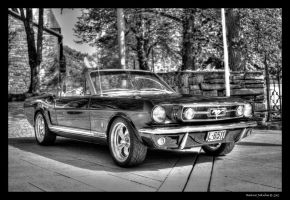 Ford Mustang 289 Cabrio by ballzenator