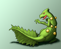 Request - Sceptile by TheSplashingMAGIKARP