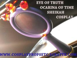 EYE OF TRUTH OOT COSPLAY PROP2 by CosplayPropsEtc