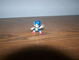 Angry little hot wheels Sonic by SuperTailsHero