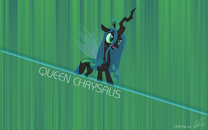 Queen Chrysalis Title by centerdave77