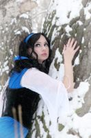 Lost in snow-covered forest 7 by Anna-Malina