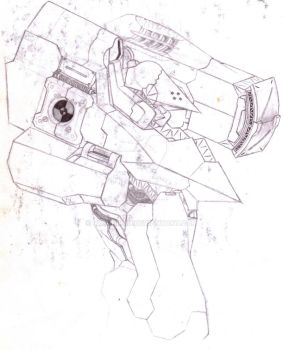 Concept Mech Body /w Sub-Weapons by Ryuuhiken