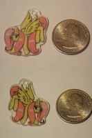 Fluttershy Shrinky Dink Charm by bluefantasy
