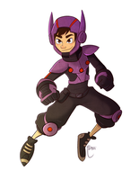Big Hero 6- Hiro 2014 by LyOrixa