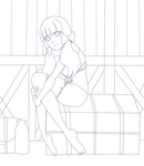 Cowgirl Coloring Page by Sammi-Bee