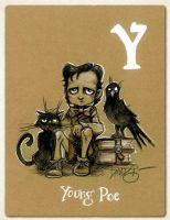 Y is for Young Poe by Disezno