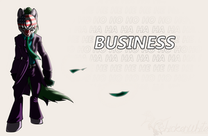 Business-pony - free background by Chickenwhite