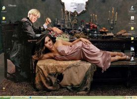 Dramione 02 Wallpaper by Dhesia