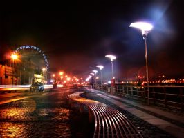 The Quays at Night 2b by superflyninja