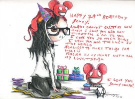 Skrillex's 24th Birthday! by LittleSkrillexKid