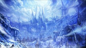 Frozen gate_Tera by moonworker1