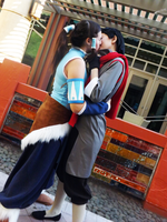 Korra and Mako - More Makorra by Riku-Ryou