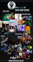 Pack 500 Users Graphixel69 by Aikos66
