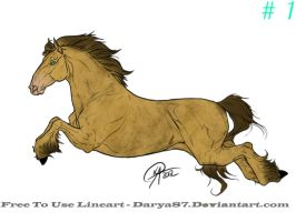 Horse Raffle Design 1 for Deadchesh by Julia-adopts