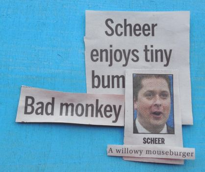 Andrew Scheer Is A Willowy Mouseburger by KeswickPinhead