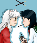 Pocky Game by StopAtTheEdge