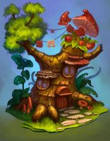 Tree by lepyoshka