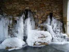 Frozen Falls and Bubbles by Charlotte-Nikki
