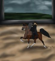 Comp :Saddle seat : Lonesome Entries by BlackMare234