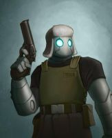 Atomic Robo by corndoggy