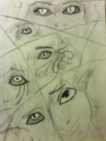Bright Eyed- bored inspiration sketch by dawn-dreamer