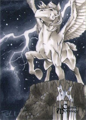 Pegasus Classic Mythology Sketch Card