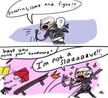 Dragon age 2, doodles 15 by Ayej