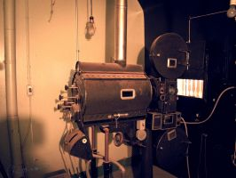 Old projector by sokolovic1987