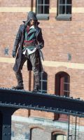 Let 'em come ! / AC Syndicate Jacob Frye Cosplay by KrishnaDammertArt