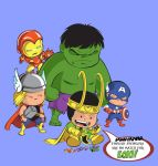 Avengers Shirt -- Loki's Playthings by Truxillogical